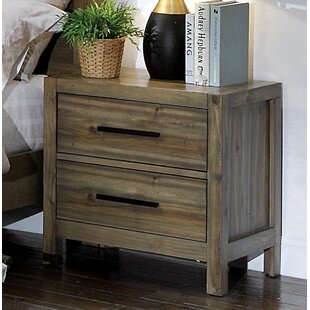 Peres 2 Drawer Nightstand