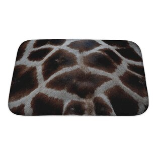 Animals Skin of Giraffe Bath Rug By Gear New