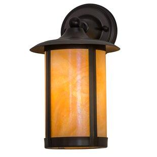 Yerby Outdoor Wall Lantern by Loon Peak