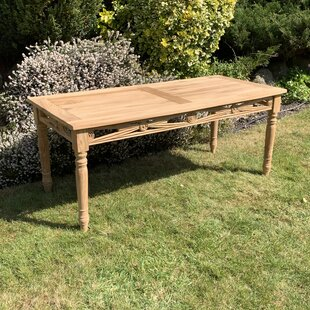 Review Glossop Teak Coffee Table
