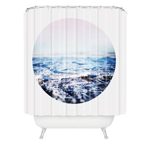 Surf Shower Curtain by East Urban Home
