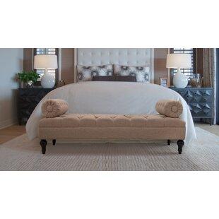 Delaney Bolstered Lounge Upholstered Bench