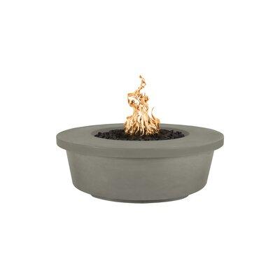 The Outdoor Plus Tempe Concrete Fire Pit  Finish: Ash, Fuel Type: Propane