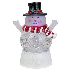 Indoor Lighted Snowman Wayfair