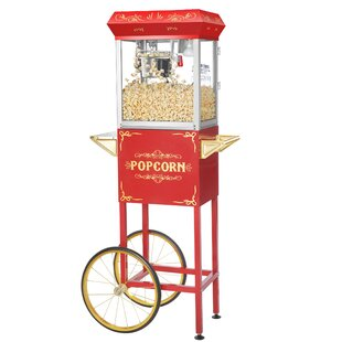 4 Oz. Foundation Machine Popcorn Cart