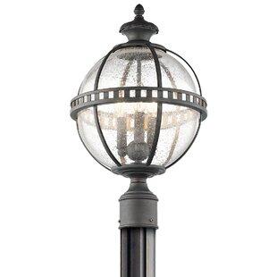 Churchton Outdoor 3-Light Lant..