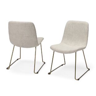 Harmon Upholstered Dining Chair (Set of 2) Williston Forge