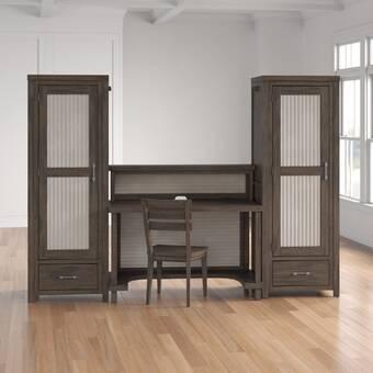 Bush Business Furniture Series A 3 Piece Desk Office Suite Wayfair