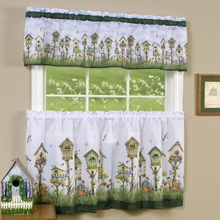 Home Sweet Home Valance And Tier Set