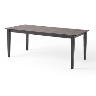 Tyrel Rectangular Farmhouse Dining Table Latitude Run