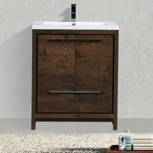 Compare Almendarez Free Standing 30 Single Bathroom Vanity Set ByLangley Street