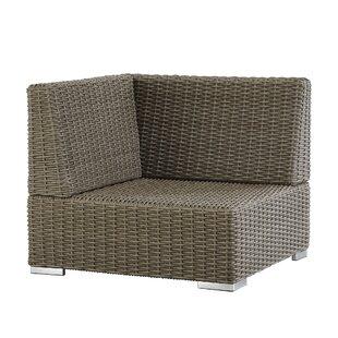 Crowley Wicker Outdoor Sectional Corner Chair