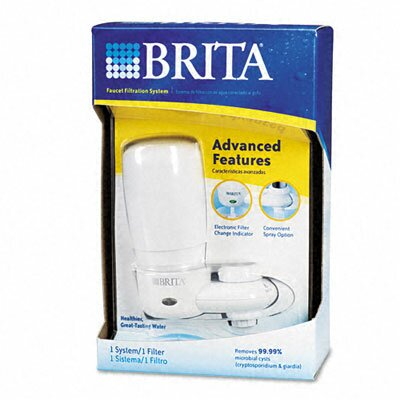 Brita Faucet Filter System, Electronic Filter Change Indicator ...
