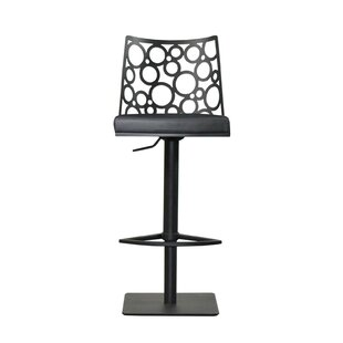 Levine Adjustable Height Swivel Bar Stool RMG Fine Imports