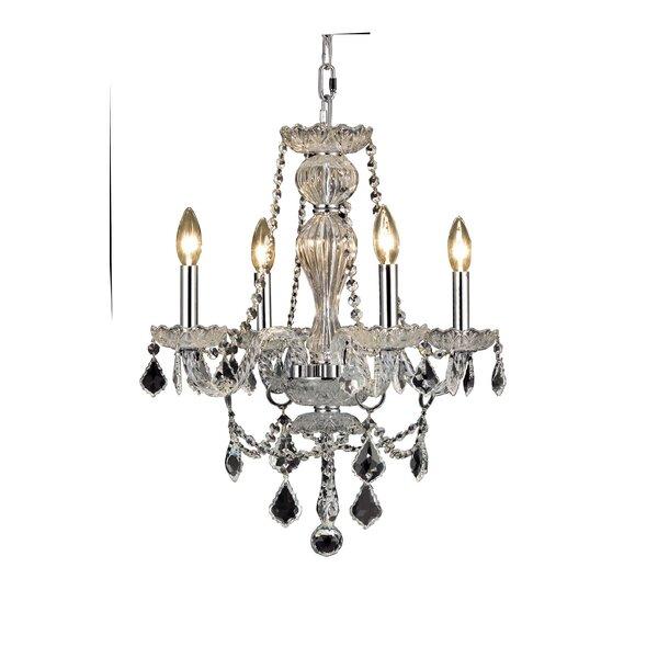 Rosdorf Park Lesli 4 Light Candle Style Classic Chandelier Reviews Wayfair