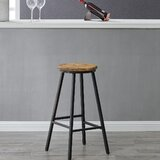 Encinas Farmhouse 26.5'' Bar Stool by Gracie Oaks