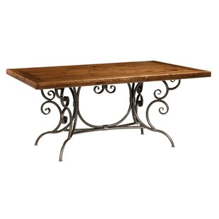 Chunn Dining Table by Fleur De Lis Living Discount