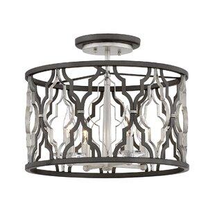 Portico 4-Light Semi Flush Mount by Hinkley Lighting