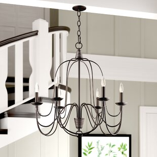 Crim Vintage 6-Light Chandelier