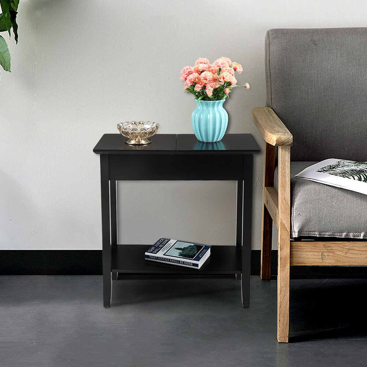With Cabinet Winston Porter End Side Tables You Ll Love In 2021 Wayfair
