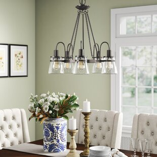 Wyble 5-Light Shaded Chandelier by Birch Lane? Heritage