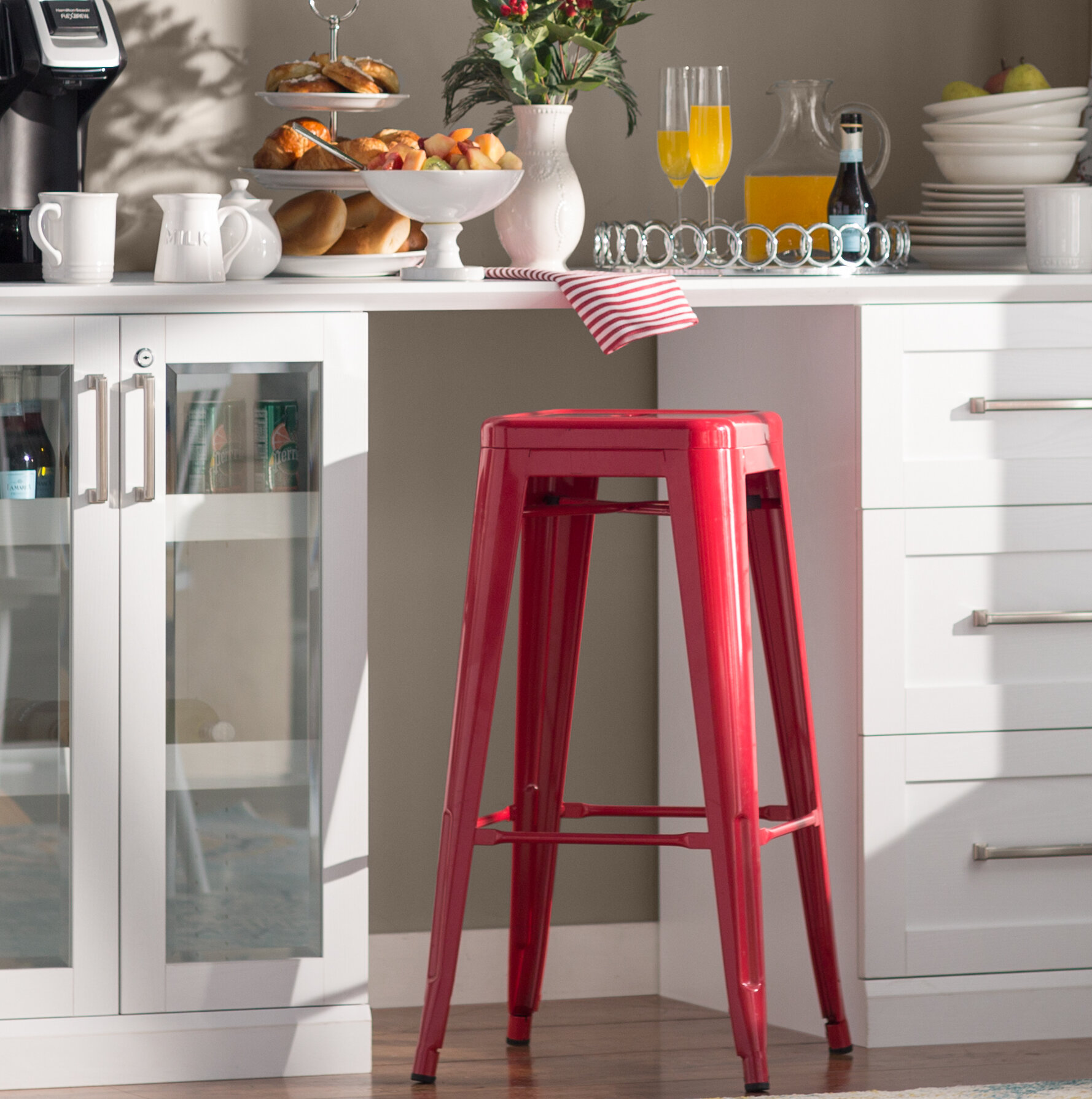 Lompoc 24 Bar Stool Reviews Allmodern