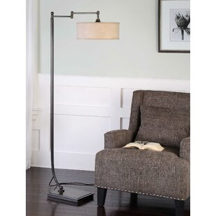 Coupon Perivale 62 Swing Arm Floor Lamp By Canora Grey