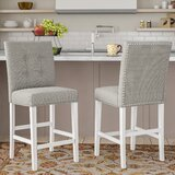 Rearick 25 Counter Stool (Set of 2) by Charlton Home®