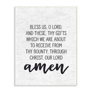 prayer before meal wayfair