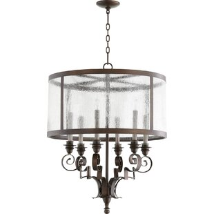 Quorum Champlain 6-Light Drum Chandelier