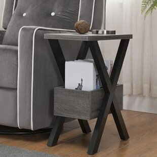 Sauve End Table by Gracie Oaks