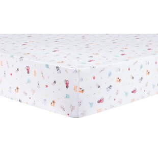 Affordable Farm Stack Fitted Crib Sheet By Trend Lab