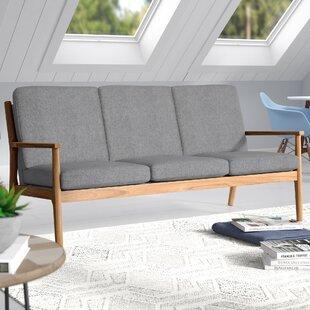 Alaina Modern Straight Arm Sofa by Langley Street