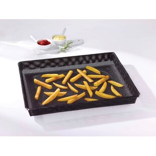 Non-Stick Oven Crisper Basket Baking Sheet