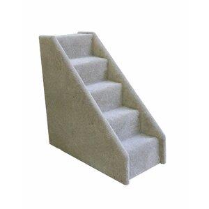 Bear's Stairsu2122 5 Step Mini Carpeted Pet Stairs