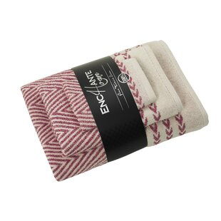 Salina 3 Piece Turkish Cotton Towel Set
