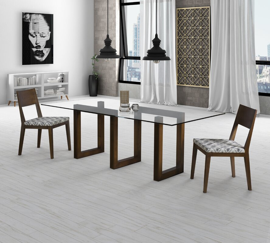 Reesa Glass Dining Table