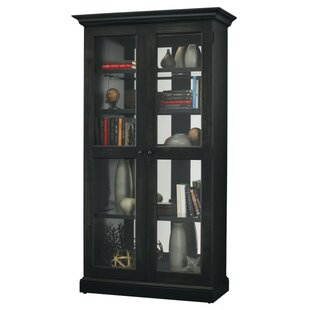 Breland Lighted Curio Cabinet by Darby Home Co
