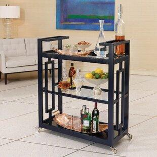 Grid Block Bar Cart by Global Views