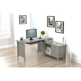 Serena L-Shaped Computer Desk by Ebern Designs