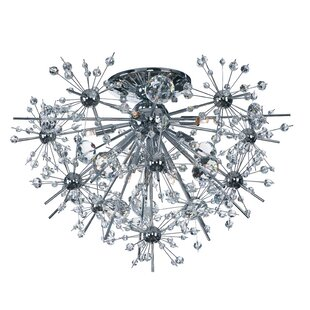Orren Ellis Mattern 8-Light Flush Mount