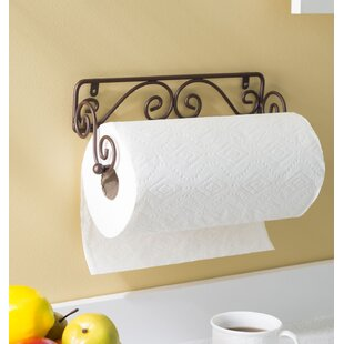 Agostine Wall-Mount Paper Towel Holder