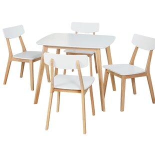 Epps Modern 5 Piece Dining Set by Ebern Designs