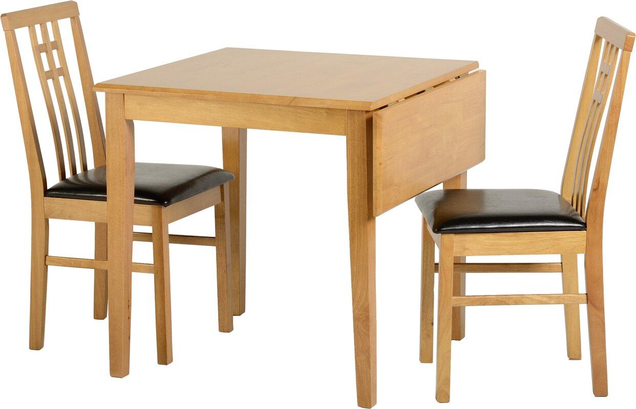 home haus essgruppe kyle mit klappbarem tisch und 2. Black Bedroom Furniture Sets. Home Design Ideas