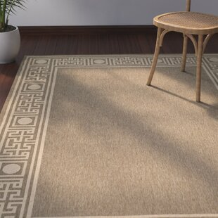 Amaryllis Coffee/Sand Indoor/Outdoor Area Rug