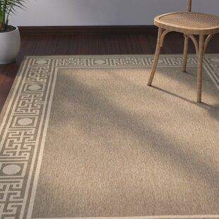Amaryllis Coffee/Sand Indoor/Outdoor Area Rug