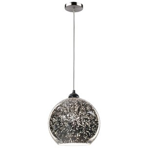 Burgoyne 1-Light Globe Pendant by Brayden Studio