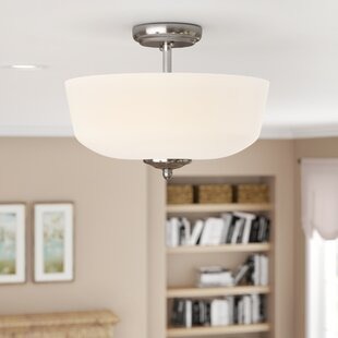 Lafrance 3-Light Semi-Flush Mount by Red Barrel Studio