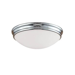 Winston Porter Lacourse 1-Light Flush Mount