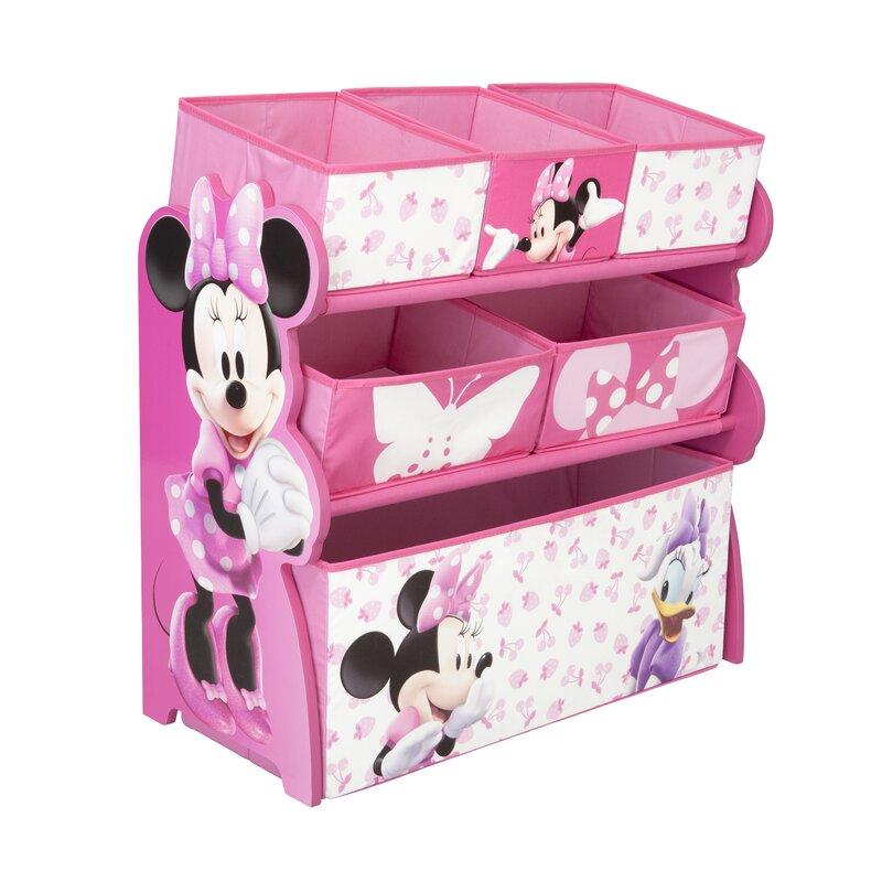 Mickey Mouse Friends Minnie Mouse Toy Multi Bin Organiser Reviews Wayfair Co Uk